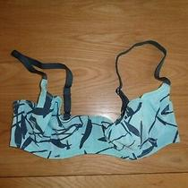 Blue Mix Size 8/10 (Cup 32d) Bikini Top by Fantasie New Photo