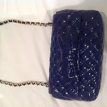Blue Patent Moschino Cheap and Chic Bag Like New Worn Once Photo