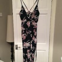 Blue Pinks Blush Floral Strappy Jumpsuit Xl (Small) 12 Photo