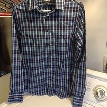 Blue Plaid Express Shirt- Size 13-13 1/2 Photo