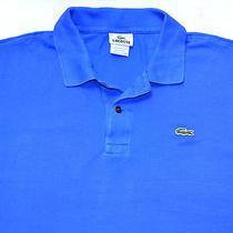 Blue Polo Shirt Lacoste Devanlaysize Xl (6)  Photo