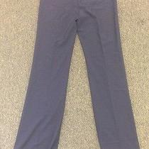 Blue Polyester Dress Pants New With Tags Size 8 Tall.  Work/dress Pants Photo