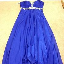 Blue Prom Dress by Tiffany Designs Photo