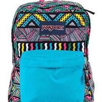 Blue Retro Superbreak Backpack - Jansport Photo