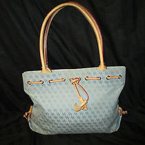 Blue Signature Dooney & Bourke Tassel Tote Photo