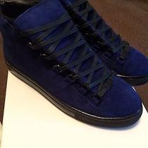 Blue Suede Balenciaga Mens Photo