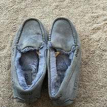 Blue Suede Ugg Slippers Size 9 Photo