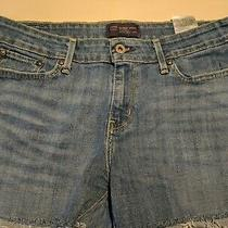 Blue Vintage Cut Off Levis Shorts Size 6 Misses Photo