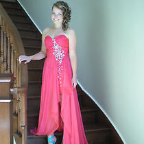 Blush 2012 High Low Prom Gown Photo