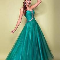 Blush 5219 Prom Dress Size 4 Photo
