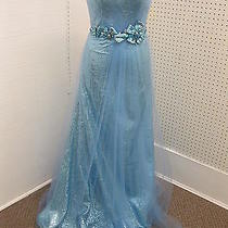Blush 9366 Formal Gown Prom Dress Sz 10 Photo