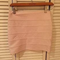 Blush Animal Print Stretch Mini Skirt - Medium Photo