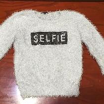 Blush & Bloom Girls Lurex Sweater Size Large Photo