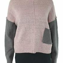 Blush & Bloom Women's Sweater Pink Size Large L Pullover Mock Neck 42 879 Photo