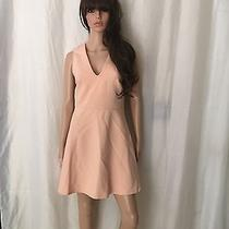Blush Boutique Dress Color Peach Blush Size Medium Open Back Photo