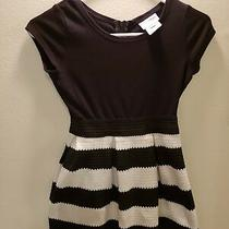 Blush by Us Angels Girls Black and White Scuba Dress Size 10  Very Fancy Photo