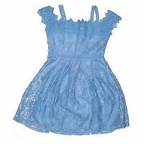 Blush by Us Angels Girls Blue Dress 12 Photo