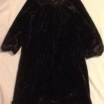Blush by Us Angels Girls Dress Sz 10 Color Black With Bead Work Photo