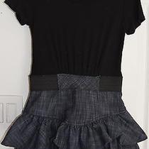 Blush by Us Angels Girls Short Sleeve Dress Black Size M Medium Js Photo