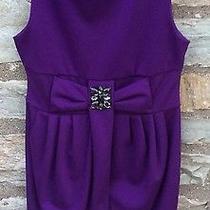 Blush by Us Angels Purple Beaded Dress Girls Size 12 Photo