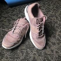 Blush Chunky Sole Sneakers  Photo