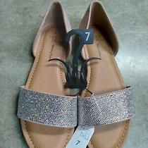 Blush Color Women's Sandals W/memory Foam Size 7 Photo