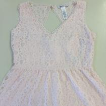 Blush Colored Lace Dress Sz 10 Photo