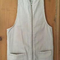 Blush Denim Dungaree Overall Dress Short Zip & Pockets 90s Summer Sz 6-8 Vgc Photo