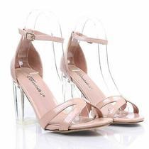 Blush Fashion Ankle Strap Womens 4