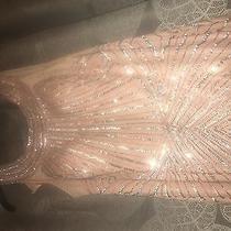 Blush- Faviana Glamour Prom Dress Size 10 Photo