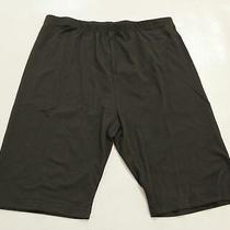 Blush Mark Women's Athletic Gear Elastic Biker Shorts Al8 Black Large Nwt Photo