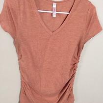 Blush Maternity Shirt Size Large Photo