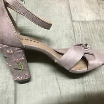 Blush/mauve Block Heel in Size 6 1/2 Photo