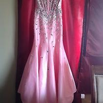 Blush Mermaid Prom Dress Pink Size 6 2014  Photo