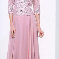 Blush Mother's of Bride Formal Dresses Cocktail Prom Gown Evening Party 2xl / 14 Photo