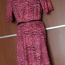 Blush Pink and Black Designer Dress Size 12 Photo