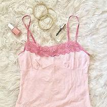Blush Pink and Lace Tank Camisole  Photo
