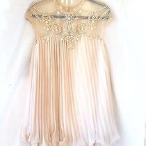Blush Pink Baby Doll Dress Size S Photo