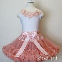 Blush Pink Birthday Party Wedding Pageant Tutu Teen Pettiskirt 8-10y Wz10d Photo