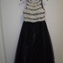 Blush Pink by Alexia Designs Black Two Piece Prom Dress  Photo