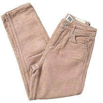 Blush Pink Corduroy Mom Jeans Size W26 L27 Crop Ankle Urban Outfitters Y2k 90s  Photo