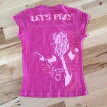 Blush Pink Girls 14 Tee Top Shirt Photo