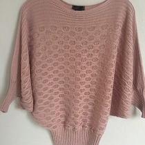 Blush Pink Lightweight Elegant Sweater Medium Photo