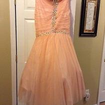 Blush Pink Mermaid Prom Dress Photo