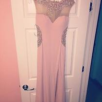 Blush Pink Prom Dress Photo