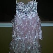 Blush Pink Prom Dress Size 11/12 Photo