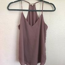 Blush Pink Purple Cami Tank Top Wet Seal Blouse Sleeveless Shirt Xs Photo
