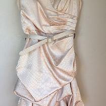 Blush Pink Short Formal Homecoming Dress - Size 1 Photo