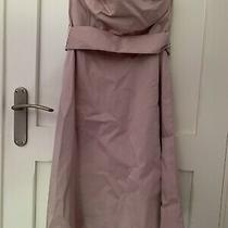 Blush Pink Strapless Dress Gap Size 8 Bnwt 98% Cotton Photo