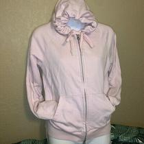 Blush Pink Uniqlo Hoodie Zip Up Womens Xs Photo